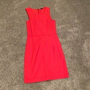 Theory Fitted Sleeveless Dress